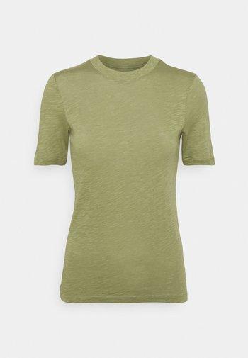 SHORT SLEEVE ROUND NECK - Basic T-shirt - dried sage