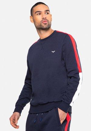 CREW CO - Sweatshirt - blau