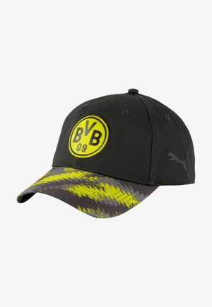 Casquette - black-cyber yellow
