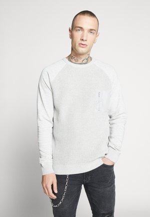 ONSNORIS CREW NECK - Pullover - light grey melange
