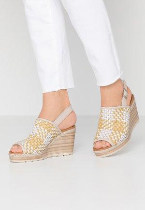 High heeled sandals - panama