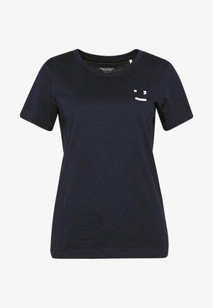 SHORT SLEEVE FRONT  - Print T-shirt - scandinavian blue