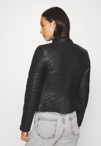 Diesel - L-IGE-NEW - Leather jacket - black - 2