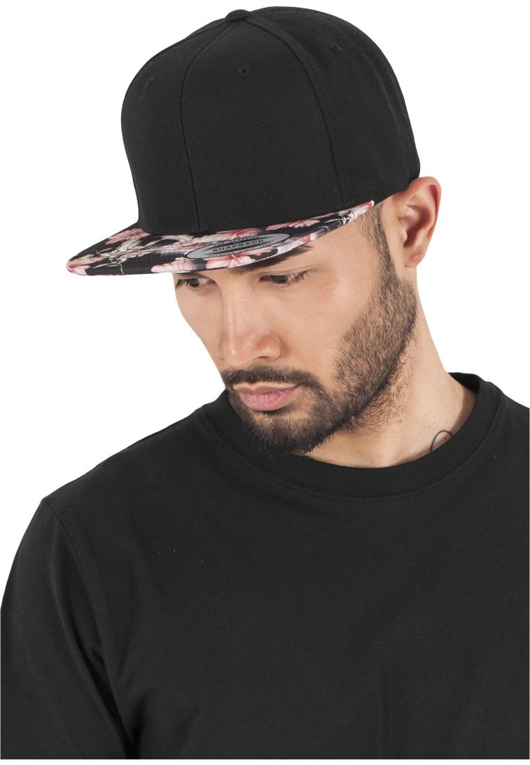 Flexfit - FLORAL SNAPBACK - Cap - black