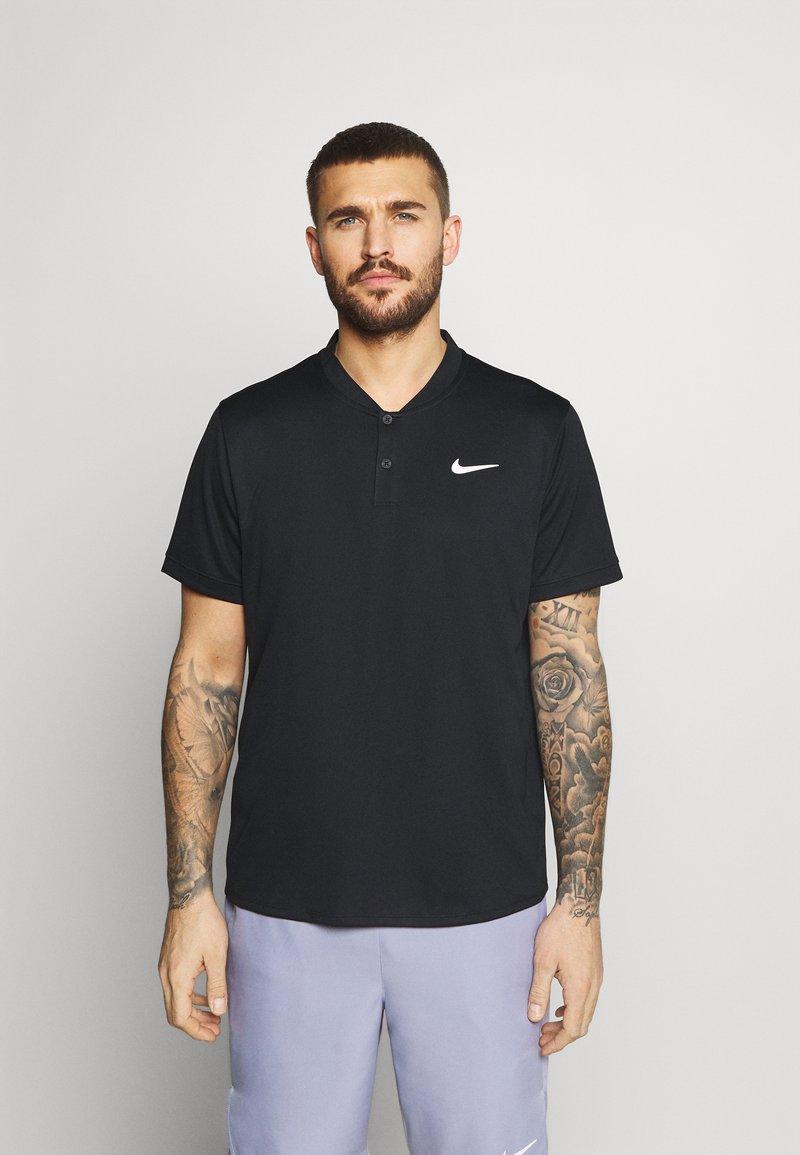 Nike Performance - BLADE - Sports shirt - black/white