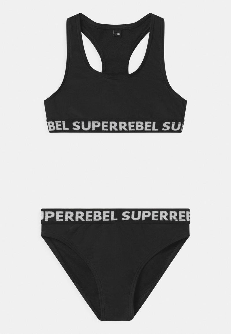 SuperRebel - SET - Bikini - black