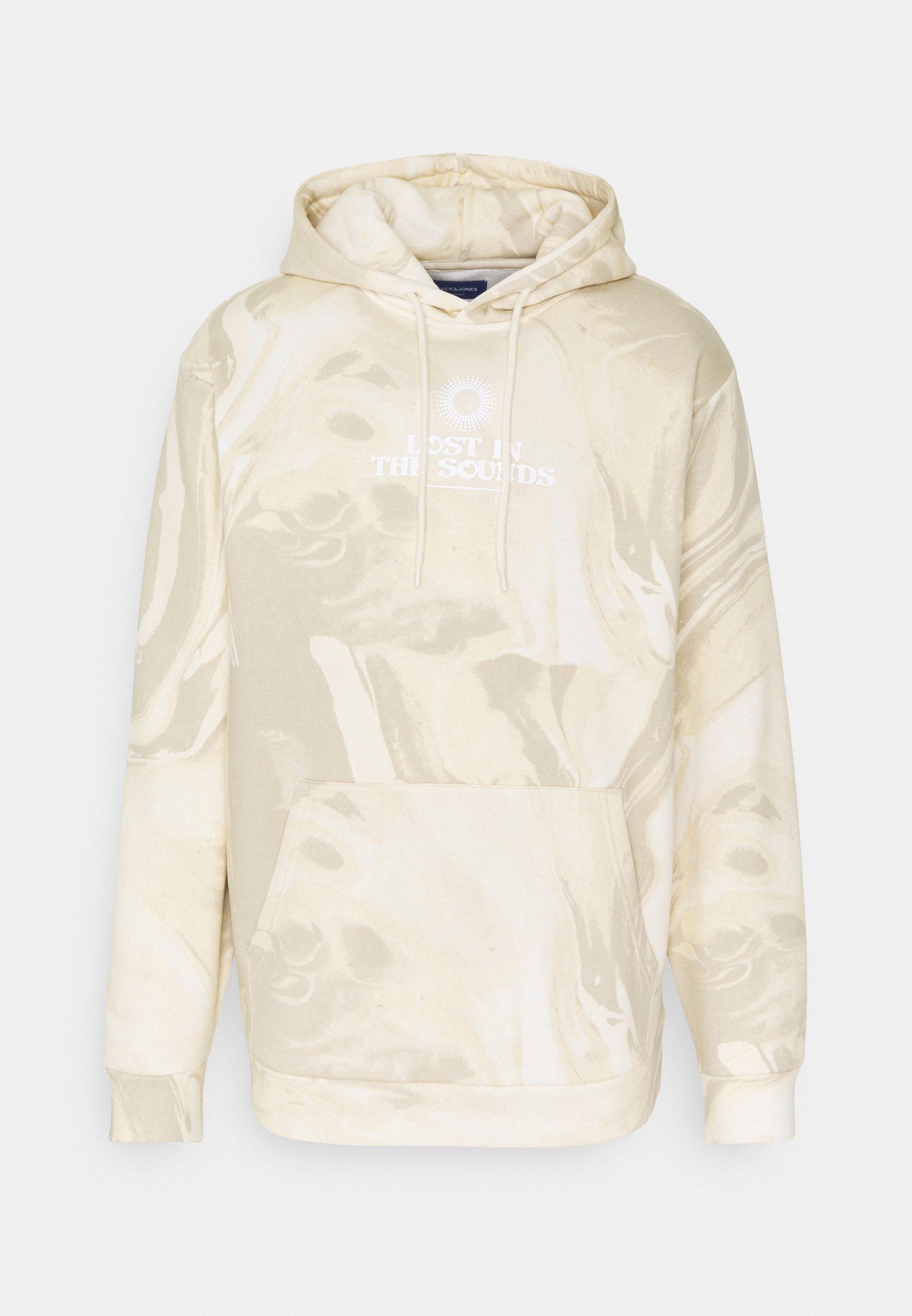 Men JORMARBLE HOOD - Sweatshirt