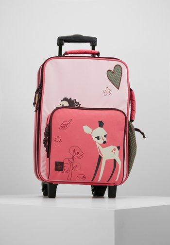 Wheeled suitcase - little tree fawn