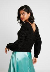 Ivyrevel - LOW BACK - Pullover - black - 2