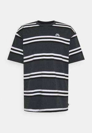 TEE STRIPE UNISEX - T-shirt z nadrukiem - smoke grey