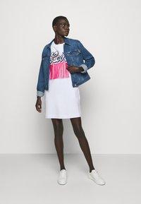 Love Moschino - Day dress - optical white - 1