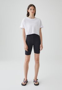 PULL&BEAR - Shorts - mottled black