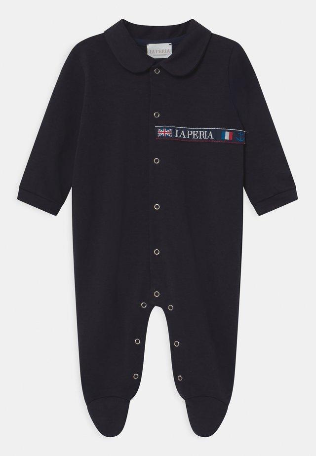 BABY FRONT OPEN - Pijama de bebé - dark blue