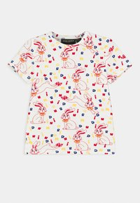 Mini Rodini - MR RABBIT TEE UNISEX - Print T-shirt - offwhite - 0