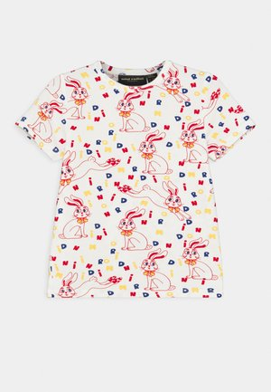 MR RABBIT TEE UNISEX - Print T-shirt - offwhite
