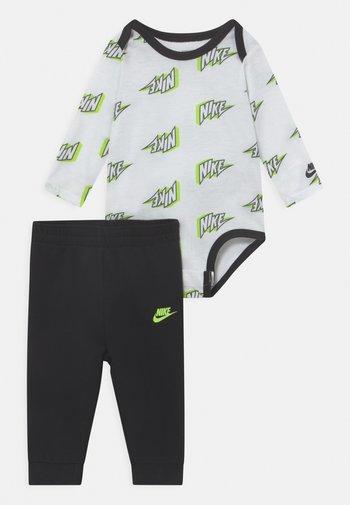 SET UNISEX - Spodnie materiałowe - black