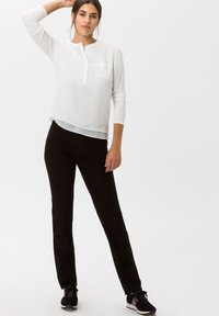 BRAX - STYLE MARY - Trousers - black - 1