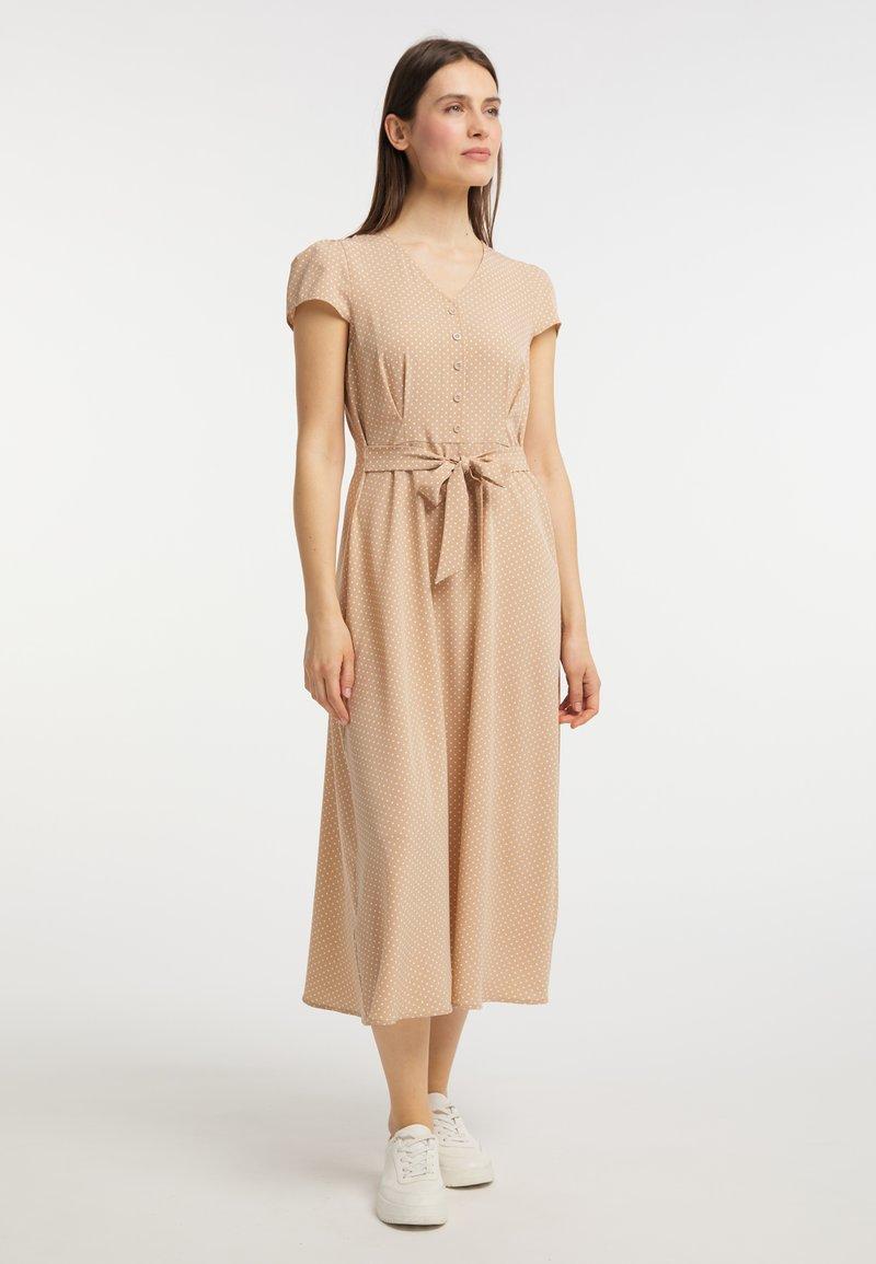 usha - Shirt dress - beige