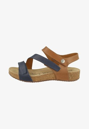 Sandały - jeans combi