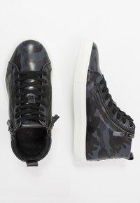 NOIRE LINE - NICK - Sneakers hoog - black/navy - 1