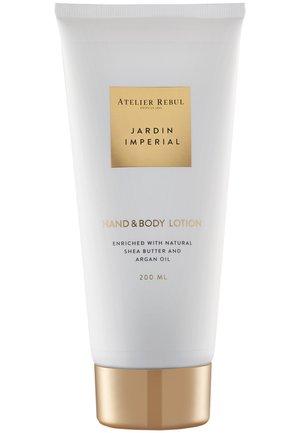 JARDIN IMPERIAL HAND & BODY LOTION 200ML - Hand cream - white