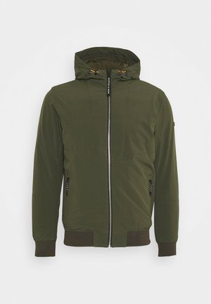 HOODED JACKET - Jas - army