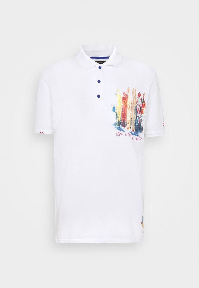 Polo shirt - weiss