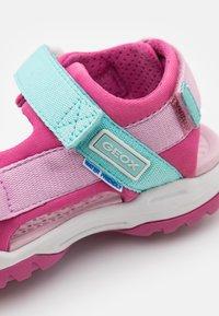 Geox - BOREALIS GIRL - Walking sandals - fuchsia/pink - 5