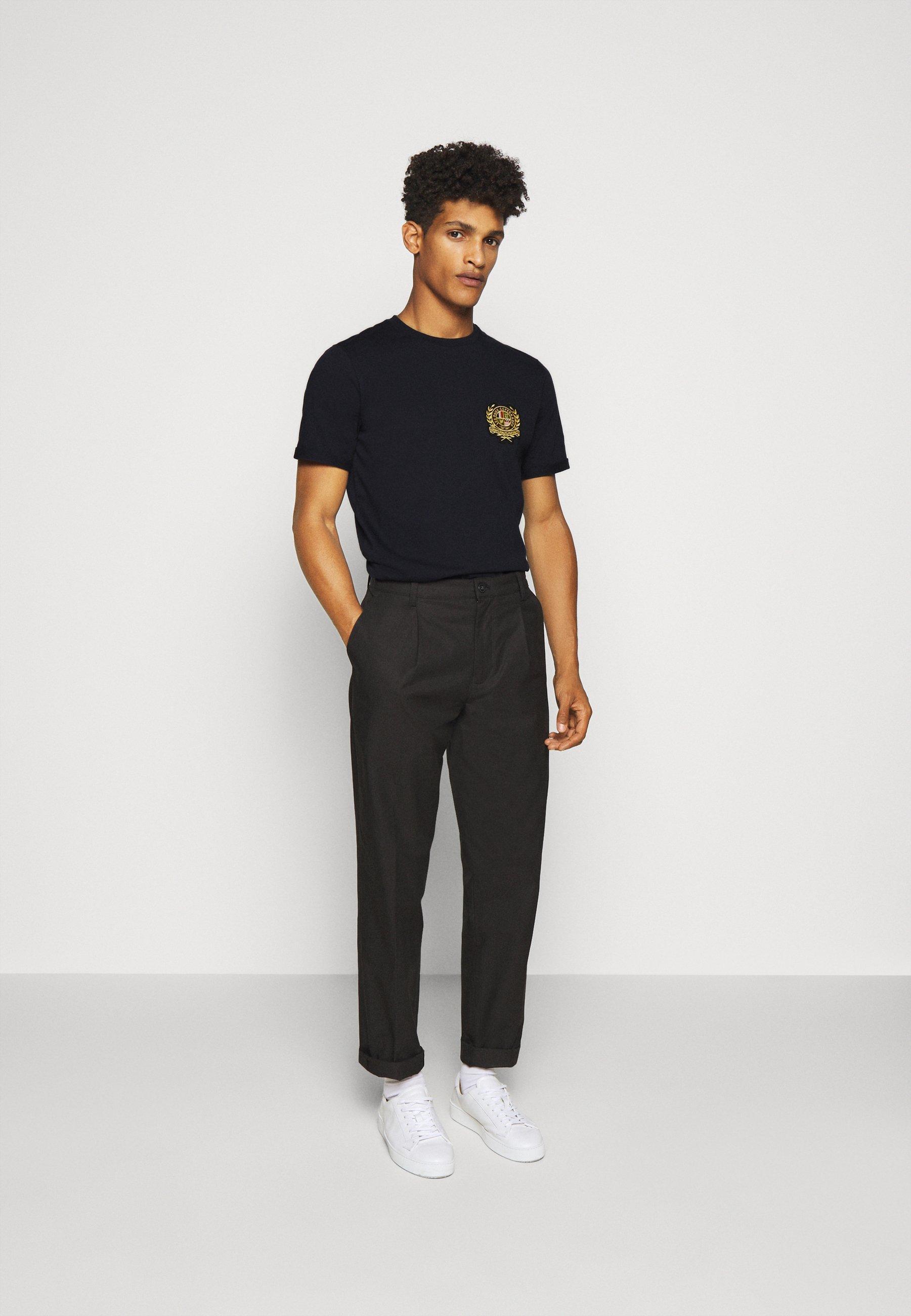 Les Deux EGALITÉ - T-shirt imprimé - dark navy