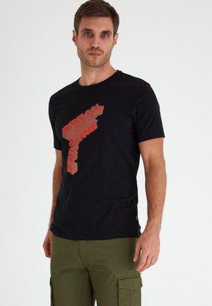 SDPAI - T-shirt print - black
