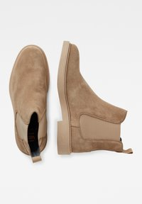 G-Star - VACUM CHELSEA - Classic ankle boots - beige - 1