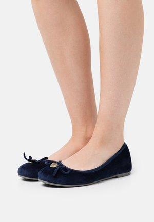 Ballerinat - navy
