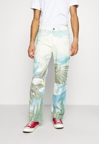 Jaded London - ALASKA LANDSCAPE SKATE - Relaxed fit jeans - multi-coloured - 0