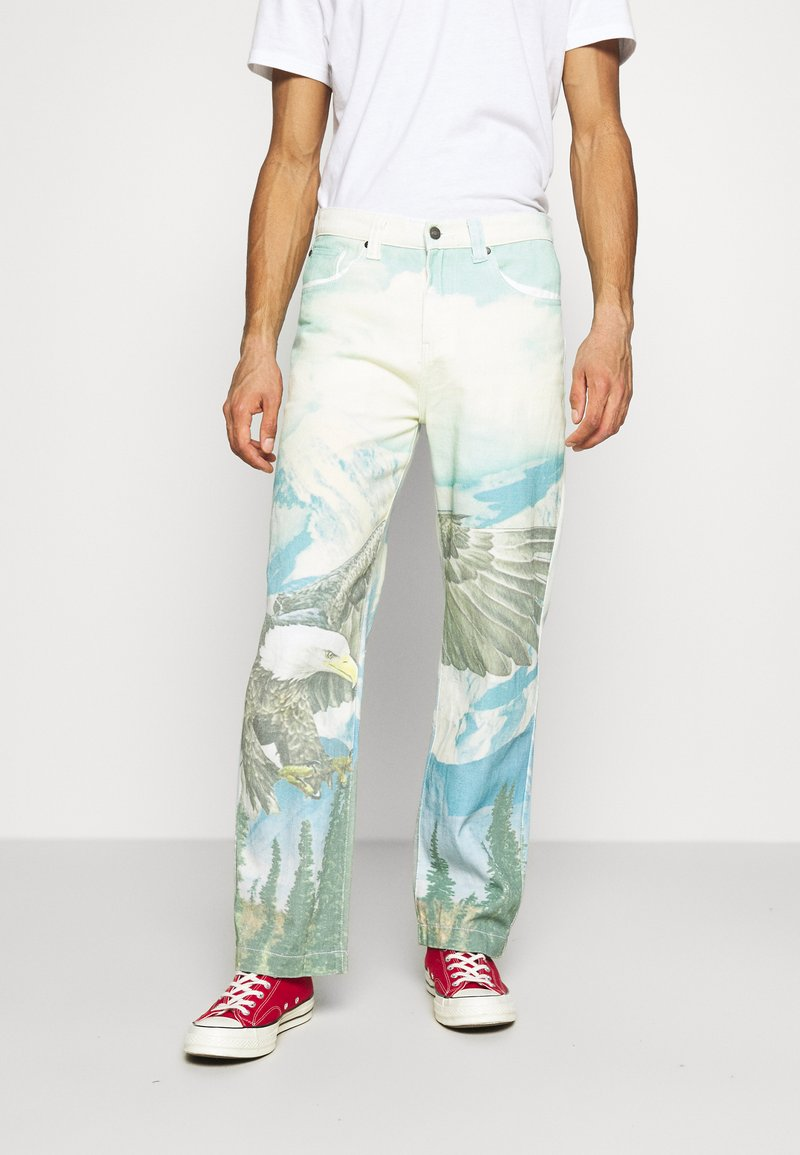 Jaded London - ALASKA LANDSCAPE SKATE - Relaxed fit jeans - multi-coloured