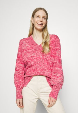 CROSSOVER V NECK - Jumper - rosetta