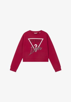 JUNIOR MIDI ACTIVE ICON - Sweatshirts - disco pink