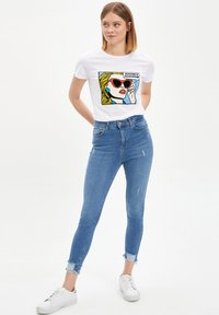 DeFacto - Jeans Skinny Fit - blue - 0