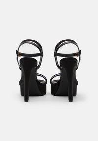 Even&Odd Wide Fit - Sandaler med høye hæler - black - 3