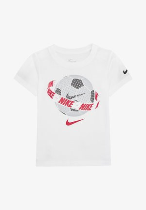 SOCCER BALL TEE - Print T-shirt - white