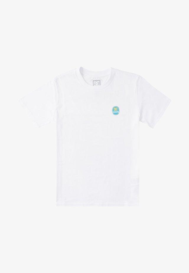 BANANAS  - T-shirt print - white