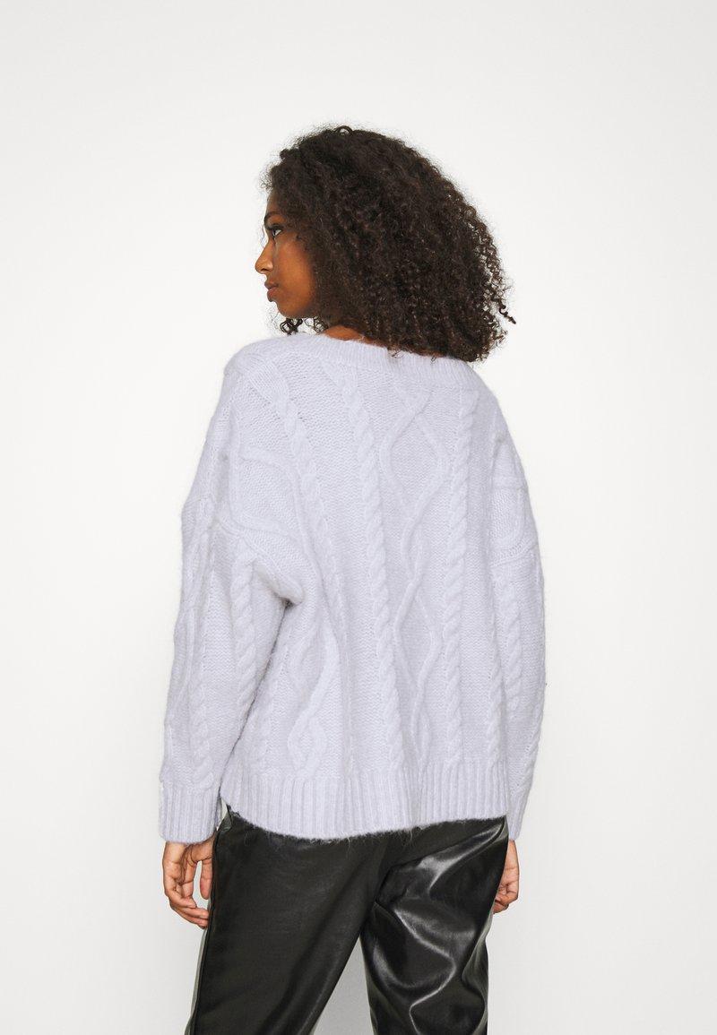 Fashion Union BOTTLE - Strickpullover - grey/grau ex5Zb5