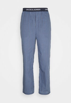 JACBLUEISH CHECK PANTS - Pyjama bottoms - dress blues