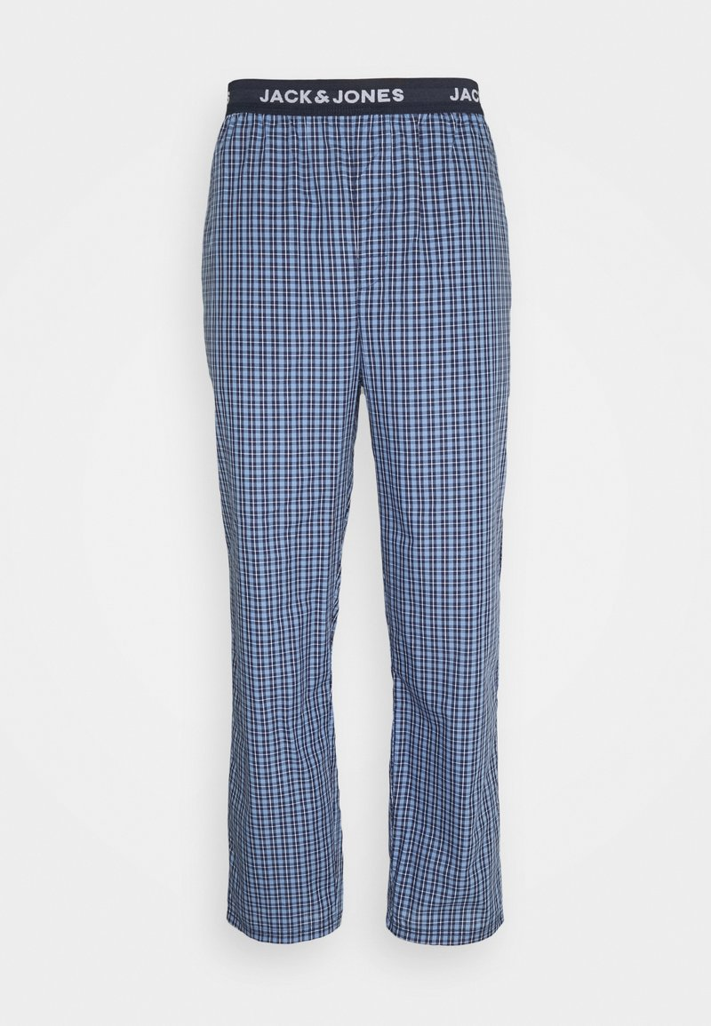 Jack & Jones - JACBLUEISH CHECK PANTS - Pyjama bottoms - dress blues