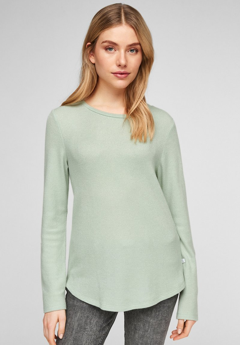Q/S designed by - LONG SLEEVE - Jumper - mint