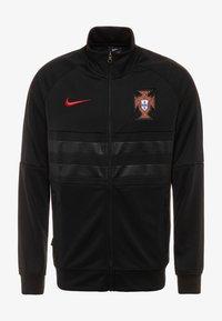 Nike Performance - PORTUGAL ANTHEM - Club wear - black/sport red - 0