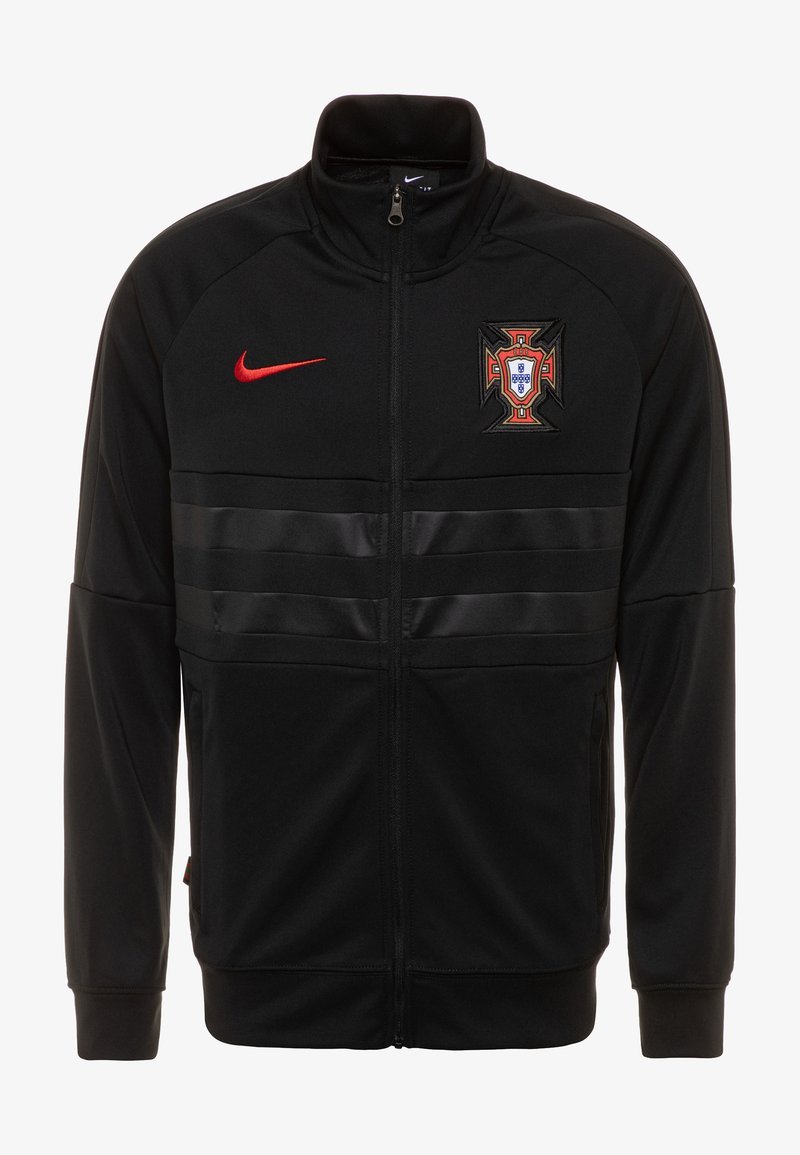 Nike Performance - PORTUGAL ANTHEM - Club wear - black/sport red