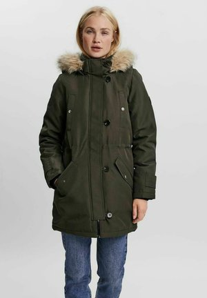 Winter coat - peat