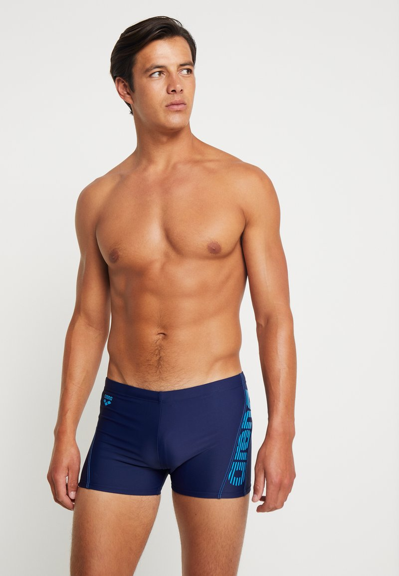 Arena - EVO - Swimming trunks - navy/turquoise