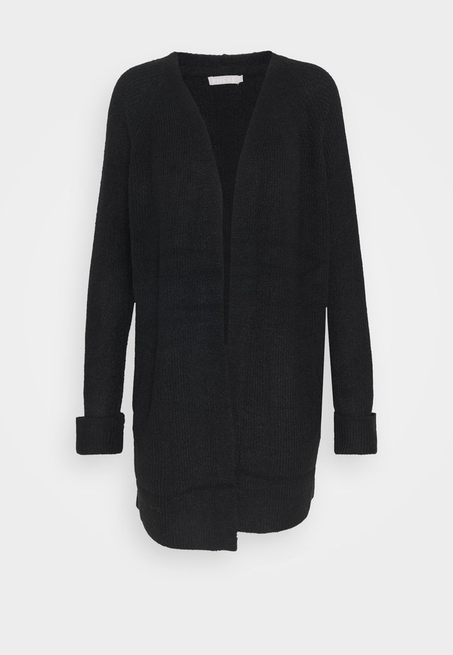 PCELLEN LONG CARDIGAN - Cardigan - black