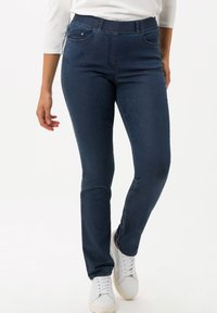 BRAX - STYLE LAVINA - Slim fit jeans - stoned - 0